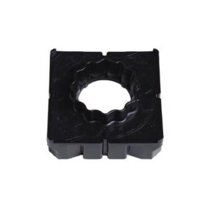Kleiner Einsatz für Trageplatte System Berliner Kappe® groß - Einsatz zur Arretierung des mobilen Adapters mit kleiner Aufnahme; geeignet für Standard-Vierkantschoner
