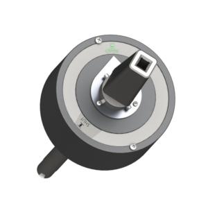 Mechanische Positionsanzeige - zur Anzeige der Position der Armatur auf Antriebsoberseite